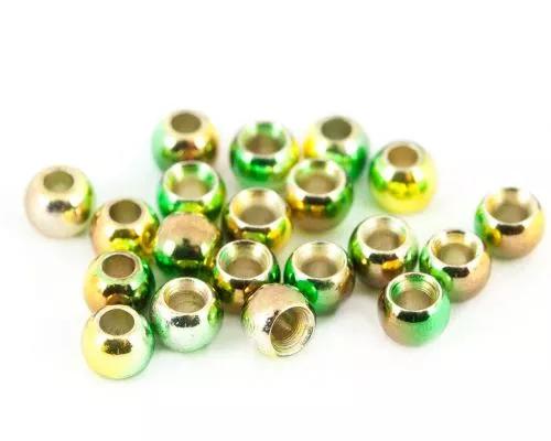 Anodised Camo Brass Beads