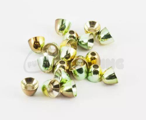 Anodised Camo Brass Cones