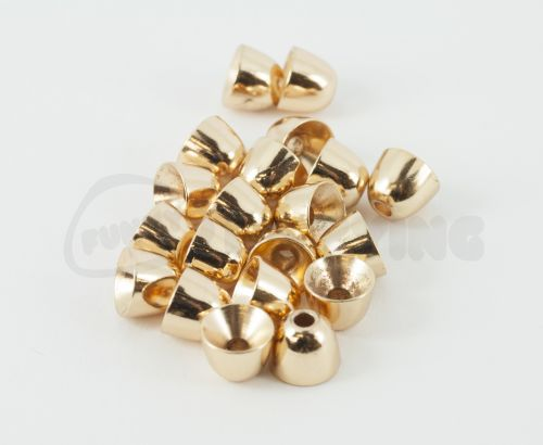 Brass Cones Metal Colours Gold