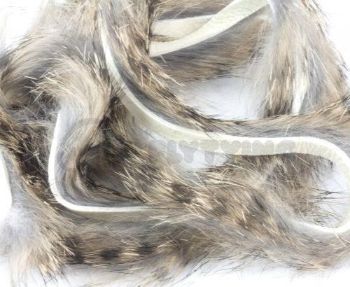 Hareline Barred Rabbit Strips