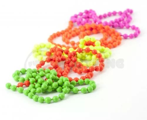 Hareline Fluoro Chain Bead Eyes