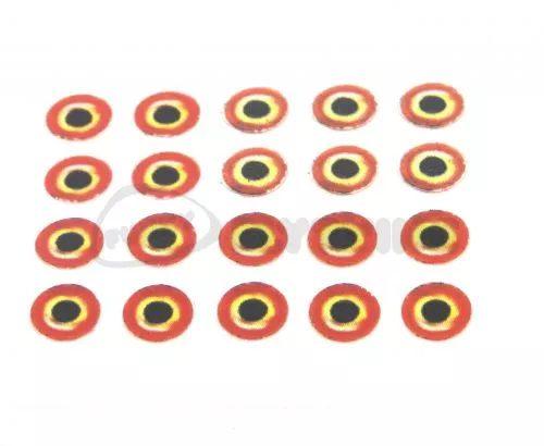 Realistic Sunburst Tape Eyes