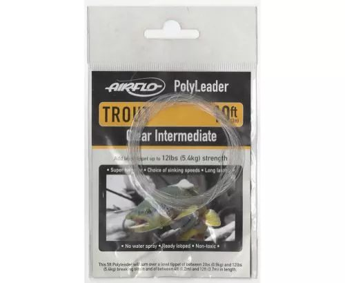 Airflo Clear Intermediate Polyleader 10ft