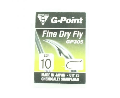 Gamakatsu G-Point Fine Dry Fly Hook