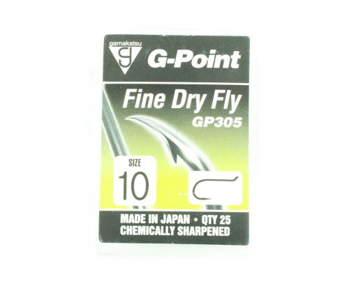 Gamakatsu G-Point Fine Dry Fly Hook