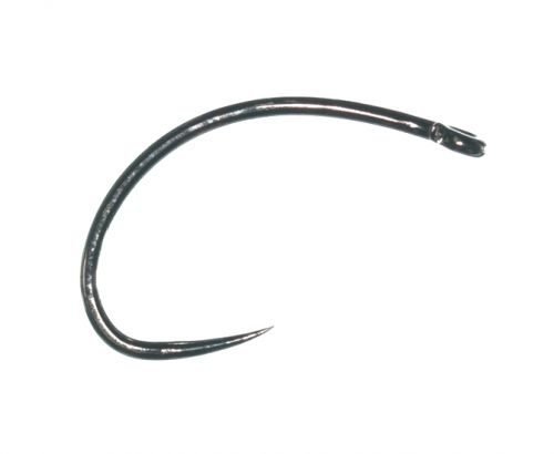 Grip 14122BL Barbless Caddis Pupa Hook