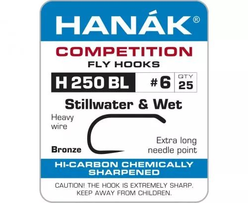 Hanak 250BL Stillwater & Wet Hook