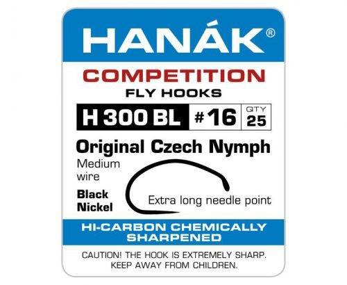 Hanak 300BL Original Czech Nymph Hook