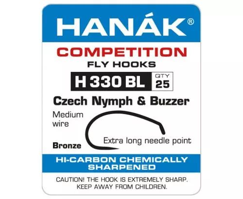 Hanak 330BL Czech Nymph and Buzzer Hook