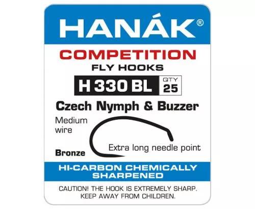 Hanak 330BL Czech Nymph and Buzzer Hook