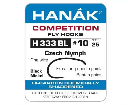 Hanak 333BL Czech Nymph Hook