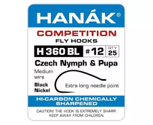 Hanak 360BL Caddis-Shrimp Hook