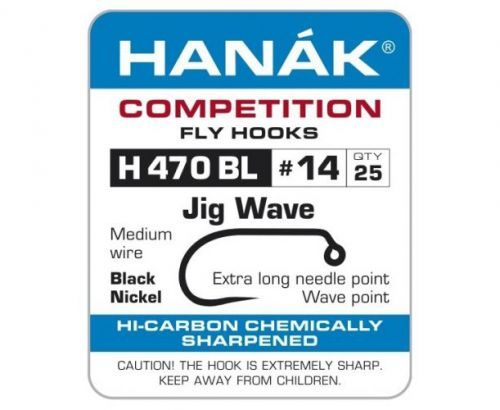 Hanak 470BL Wave Jig Hook