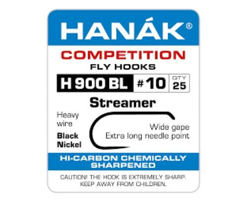 Hanak 900BL Streamer Hook
