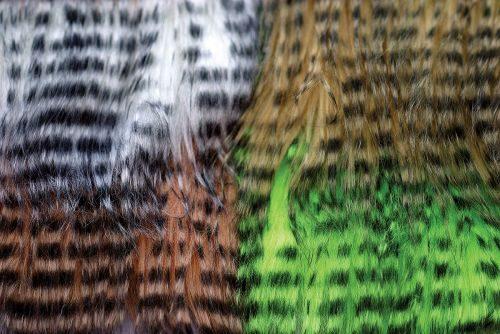 Hareline Barred Pseudo Hair