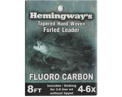 Hemingway's Fluorocarbon Furled Tapered Leader