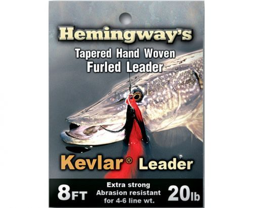 Hemingway's Kevlar Tapered Hand Woven Furled Leader