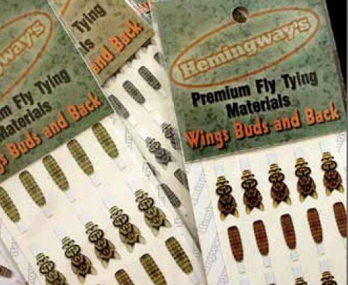 Hemingway's Mayfly Wing Buds & Back