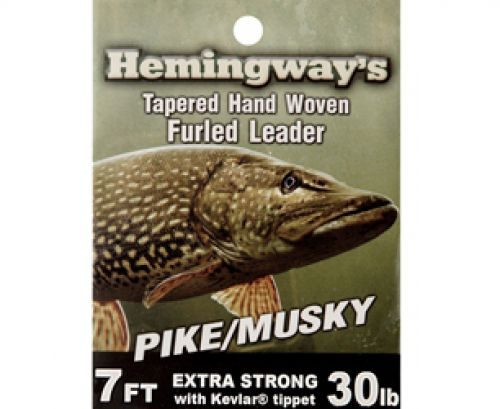 Hemingway's Pike/Musky Tapered Hand Woven Furled Leader
