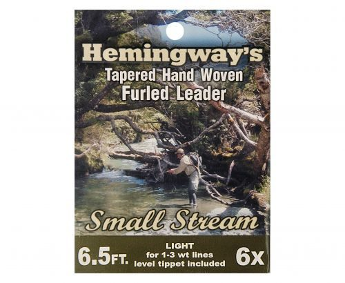 Hemingway's Small Stream Tapered Hand Woven Furled Leader