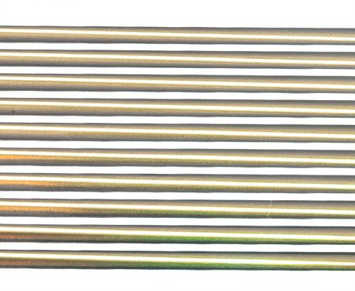 Hemingway's Synthetic Holographic Peacock Quills