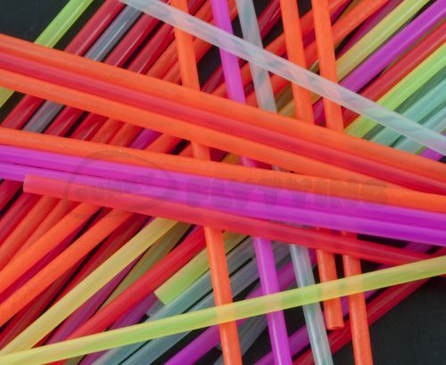 Outer Plastic Tubes 3mm Fluoro Colours