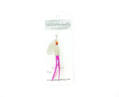 Rolla Silver Bullet Pink tail - Treble Hook