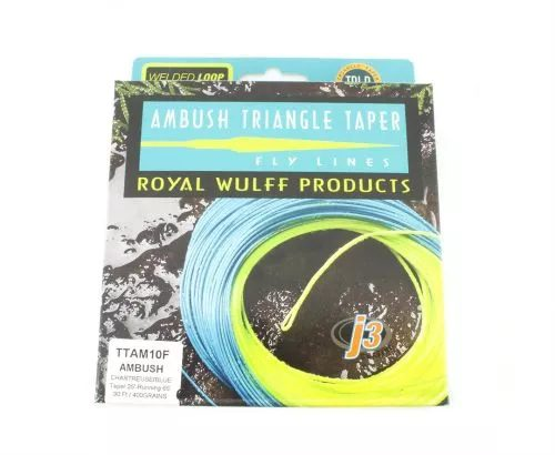 Royal Wulff Triangle Tapered Ambush Line