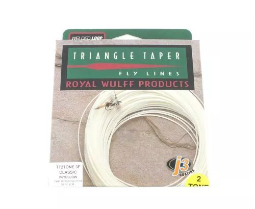 Royal Wulff Triangle Tapered Two Tone Line