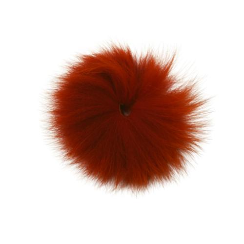 Funky Artic Fox Tail Fiery Brown